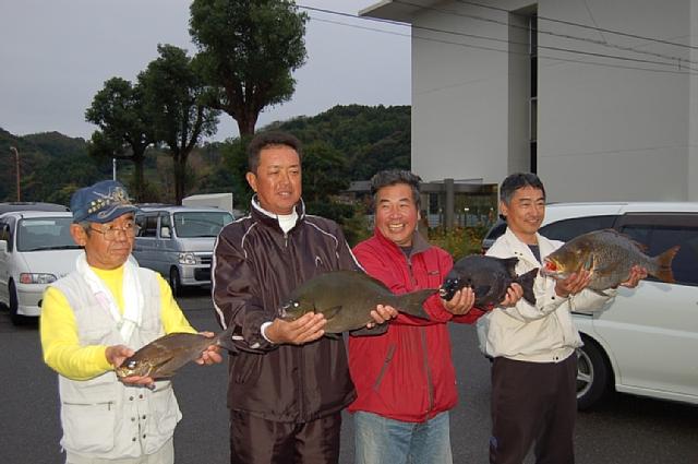 高知県磯釣り連盟主催の釣大会、グレの部優勝!