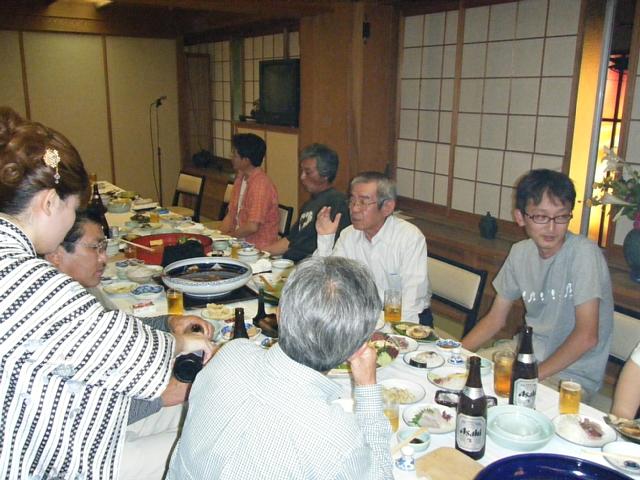 高知釣吉クラブ2010年度反省会の様子(2)
