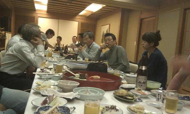 高知釣吉クラブ2010年度反省会の様子(3)