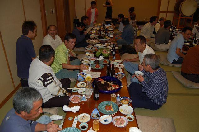 高知釣吉クラブ2011年度反省会の様子(2)