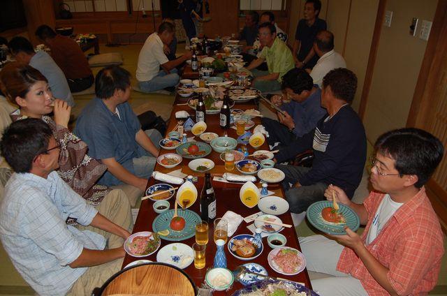高知釣吉クラブ2011年度反省会の様子(4)