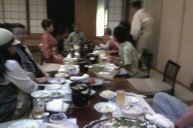高知釣吉クラブ2011年度反省会の様子(1)