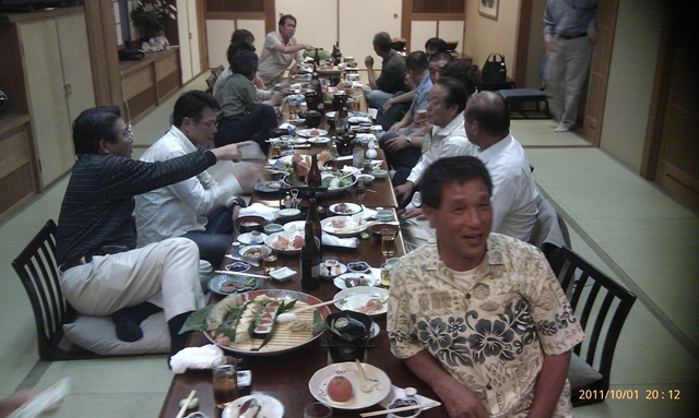 高知釣吉クラブ2012年度反省会の様子(2)