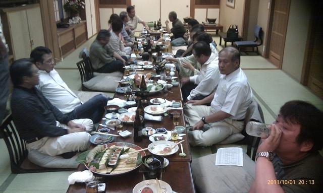 高知釣吉クラブ2012年度反省会の様子(4)