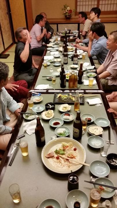 高知市の某所で2013年度の反省会(3)