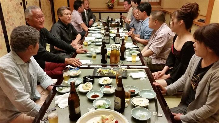 高知市の某所で2013年度の反省会(1)