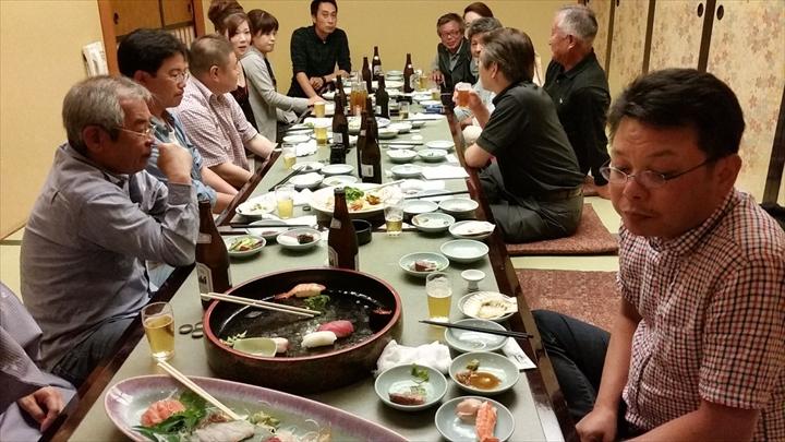 高知市の某所で2013年度の反省会(2)