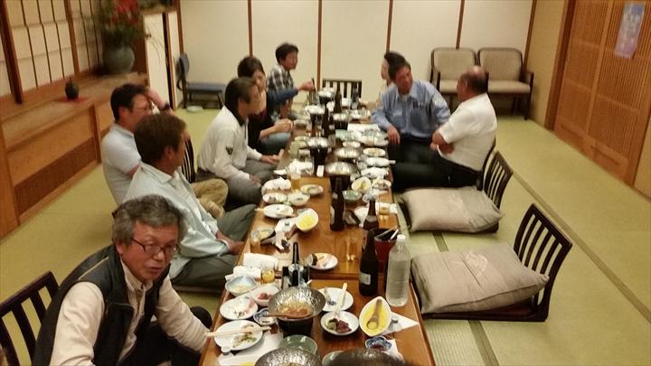 高知市の某所で2014年度の忘年会(1)