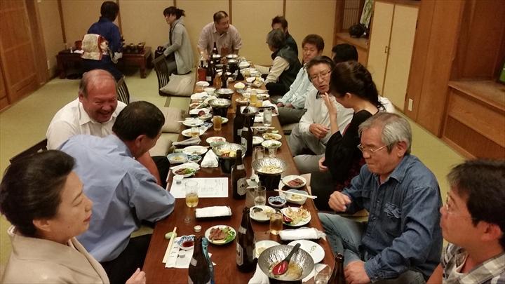 高知市の某所で2014年度の忘年会(2)