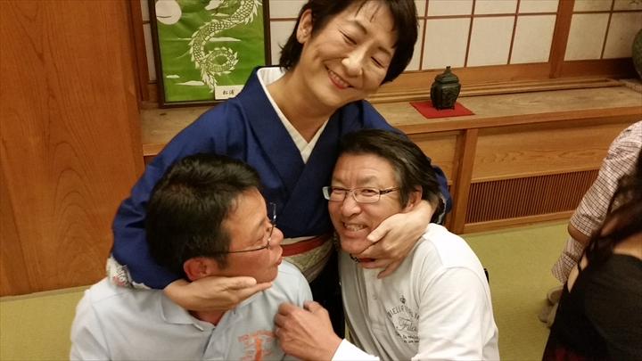 高知市の某所で2014年度の忘年会(3)