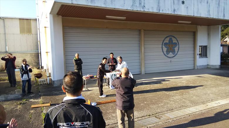 高知県連グレ釣大会で岡上君、5位に入賞だ (2)